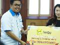 Hago Beri Bantuan Rp 500 Juta ke Korban Gempa Lombok