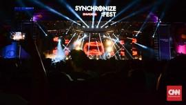 Demi Lingkungan, Synchronize Imbau Penonton Datang Bersepeda