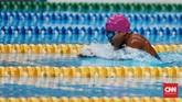 Syuci Indriani jadi salah satu atlet yang bersinar di Asian Para Games. Kontingen Indonesia mengakhiri Asian Para Games dengan duduk di posisi kelima. (CNN Indonesia/Andry Novelino)