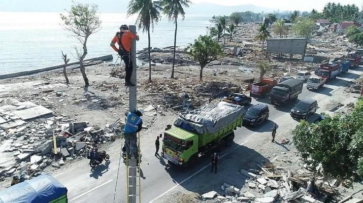Pasca-tsunami dan Gempa, Jokowi Bangun Palu Baru Rp 6 T