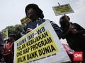 Aksi Demo Warnai Pertemuan IMF-WB
