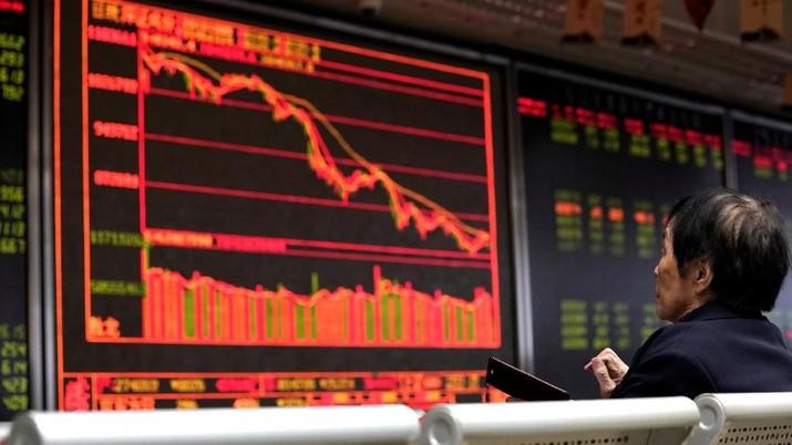 Data Ekonomi Buruk, Bursa China Dibuka Anjlok