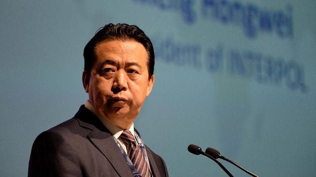 Mantan Presiden Interpol Asal China Terjerat Kasus Suap