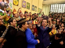 Blusukan ke USU, Jokowi Sebut Entrepreneur RI Masih Rendah