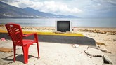 Kawasan pesisir Palu, Sulawesi Tengah usai diterjang gempa dan tsunami. Palu luluh lantak setelah bencana dahsyat itu datang. (REUTERS/Hannibal Hanschke)