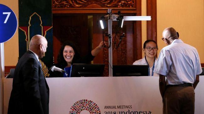 Peserta Pertemuan IMF-Bank Dunia Mulai Plesiran di Bali