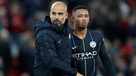 Guardiola Minta Maaf Larang Gabriel Jesus Ambil Penalti