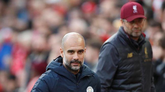 Klopp dan Guardiola Janji 'Bakal Saling Tendang Bokong'