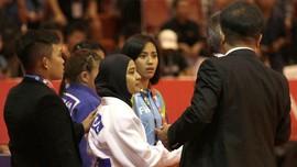Pasal yang Bikin Jannah Didiskualifikasi Pakai Jilbab