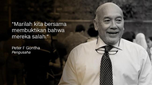 Peter F Gontha, Pengusaha.