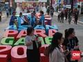 FOTO: Kompleks GBK Masih Sepi Penonton Asian Para Games 2018