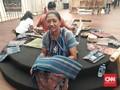 Keindahan Tenun Maumere di Paviliun Indonesia IMF-WB