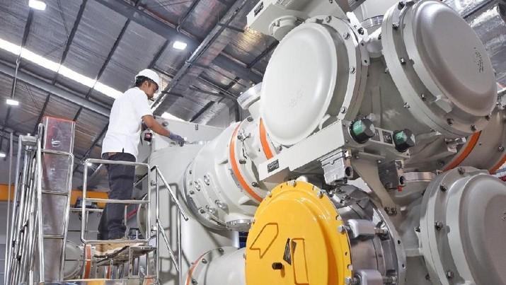Aktivitas industri manufaktur dalam negeri kembali mencatat ekspansi yang gemilang.