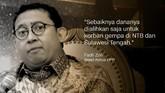 Fadli Zon, Wakil Ketua DPR/Anggota Dewan Pengarah BPN Prabowo-Sandi/Wakil Ketua Umum Partai Gerindra.