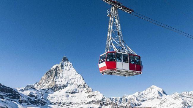 Swiss Punya Kereta Gantung Tertinggi di Dunia