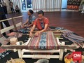 The Beauty of Maumere Fabric at IMF-WB Meeting