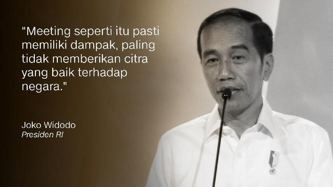 Joko Widodo, Presiden RI/Calon Presiden Nomor Urut 1.