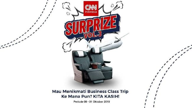 Mau Business Class Trip Gratis ke Mana Pun?
