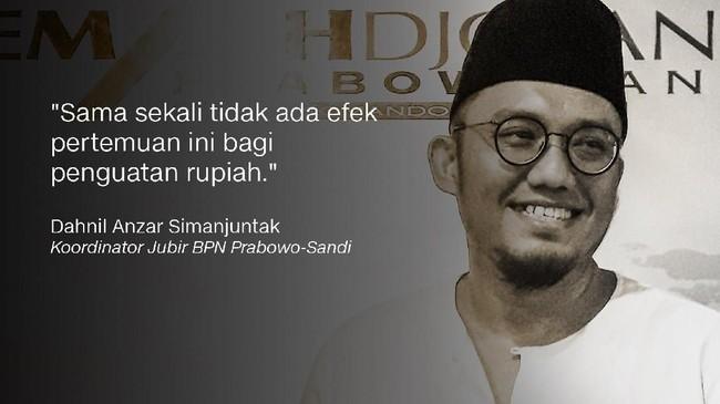 Dahnil Anzar Simanjuntak, Koordinator Jubir BPN Prabowo-Sandi.