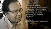 Rizal Ramli, Ekonom/Mantan Menteri Koordinator Bidang Perekonomian.