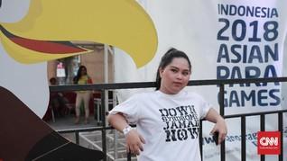 Semangat Penyandang Down Syndrome 'Zaman Now' di APG 2018