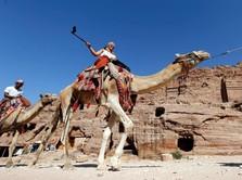 Melihat Petra, Salah Satu Situs Keajaiban Dunia di Yordania