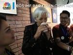 Saat Bos IMF Racik dan Cicipi Kopi Bersama Barista Ganteng
