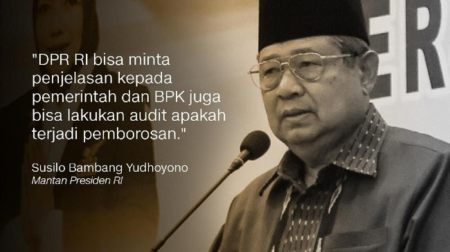 Susilo Bambang Yudhoyono, Ketua Umum Partai Demokrat.