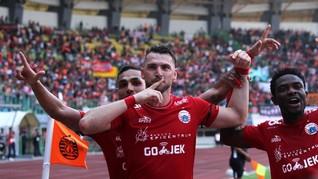 Gol Simic Bawa Persija Menang Atas Madura United di Liga 1
