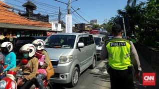 Kemacetan dan Penjagaan Berlapis Ubah Suasana Pulau Dewata