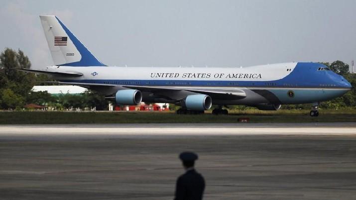 Di Air Force One, Trump Ungkap Hasil Makan Malam Dengan Xi