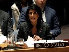 Dubes AS untuk PBB Mundur, Mau Menatang Trump di Pemilu?