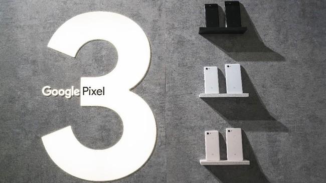 Google Pixel 3 secara resmi meluncur di New York, AS pada Selasa (9/10) pagi waktu setempat. (Drew Angerer/Getty Images/AFP)
