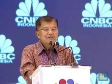 Wapres JK Resmikan Hadirnya CNBC Indonesia di Tanah Air