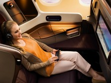 Kursi Premium Economy Penerbangan Terpanjang Dunia tak Laku