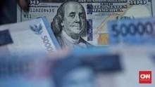 Rupiah Keok Lagi Rp14.581 per Dolar AS Akibat Sentimen Eropa