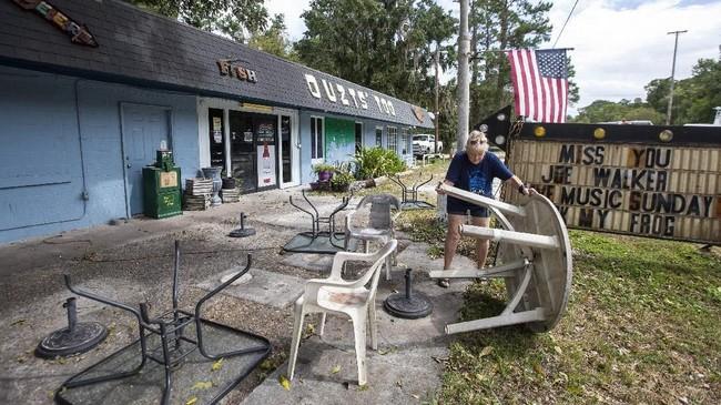 Hurikan terburuk yang sempat melanda kawasan ini adalah topan Dennis yang terjadi pada 2005 lalu(Mark Wallheiser/Getty Images/AFP)