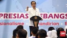 Pesan Jokowi ke Santri: Silakan Beda Pilihan, Saring Hoaks