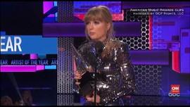 VIDEO: Taylor Swift-Camila Cabello Menang Besar di AMA 2018