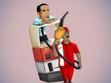 Jokowi Jilid II, Malu-Malu Mau Naikkan BBM & Tarif Listrik