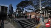 Diharapkan fasilitas nyaman di taman ini bisa mengundang warga Jakarta untuk lebih sering menggunakan angkutan umum.