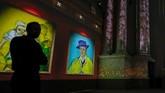 Vincent Van Gogh merupakan seorang pelukis impressionis yang banyak melukis objek dengan cat air warna cerah dan menarik. (REUTERS/Yves Herman)