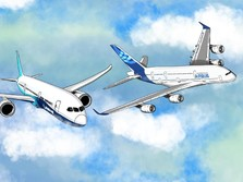 Antara Boeing dan Airbus, Siapa Lebih Laris?