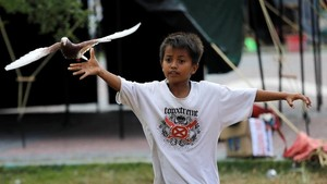 FOTO: Keceriaan Anak-Anak Korban Gempa Palu