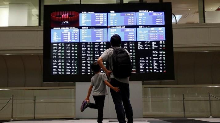 Hore! AS-China Siap Negosiasi Lagi, Bursa Saham Asia Menguat