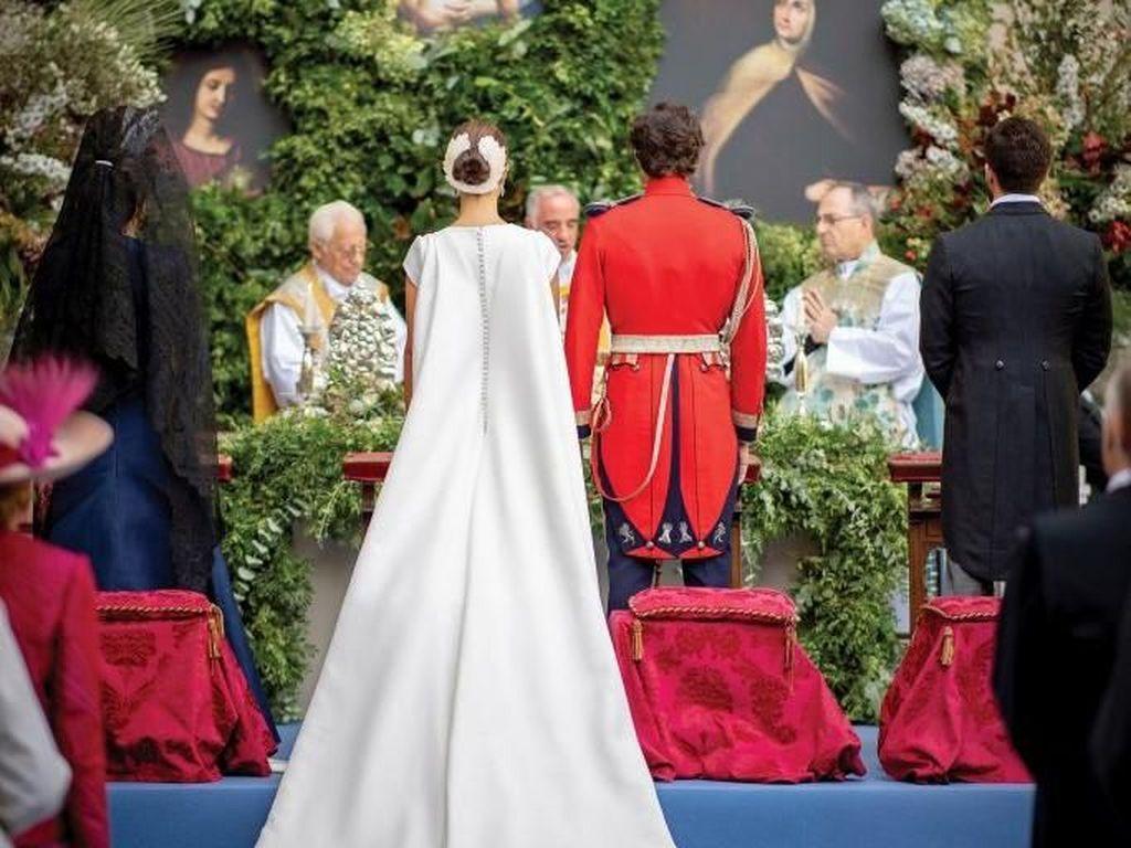 Foto: Indahnya Pernikahan Bangsawan Spanyol dengan Sosialita Cantik
