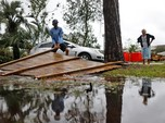 Badai Michael Terjang Florida, Paksa 370 Ribu Warga Mengungsi