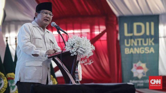 Prabowo Klaim Tak Minta Dukungan ke Pesantren, Cuma Minta Doa