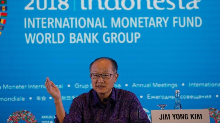 Presiden Grup Bank Dunia (World Bank/ WB) Jim Yong Kim akan mengundurkan diri efektif mulai 1 Februari mendatang.