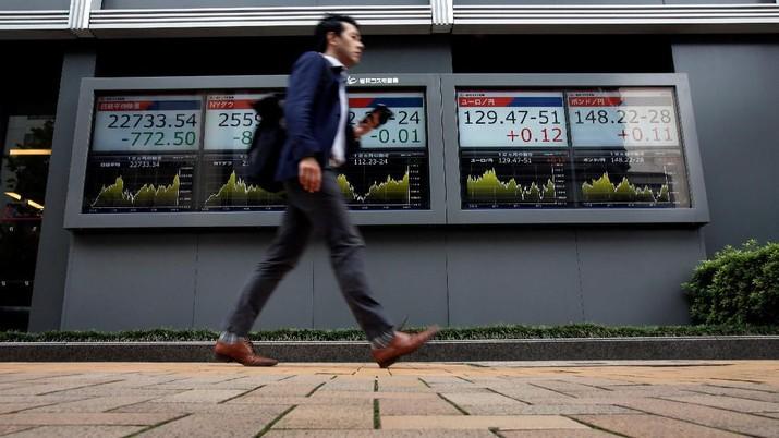 The Fed Melunak, Bursa Jepang Dibuka Menguat